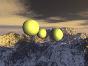 Un premier screenshot avec un éclairage sans shader